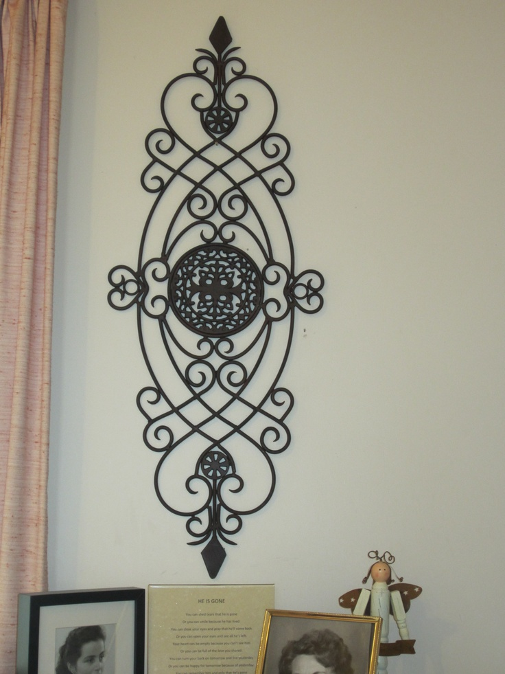 17 Best Images About Wrought Iron Metal Wall Decor On