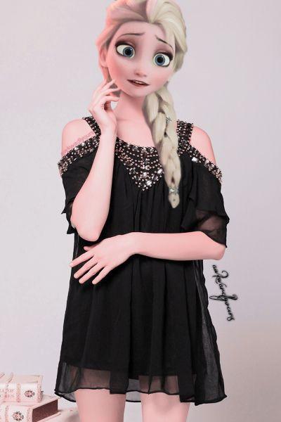 Elsa gothique ?