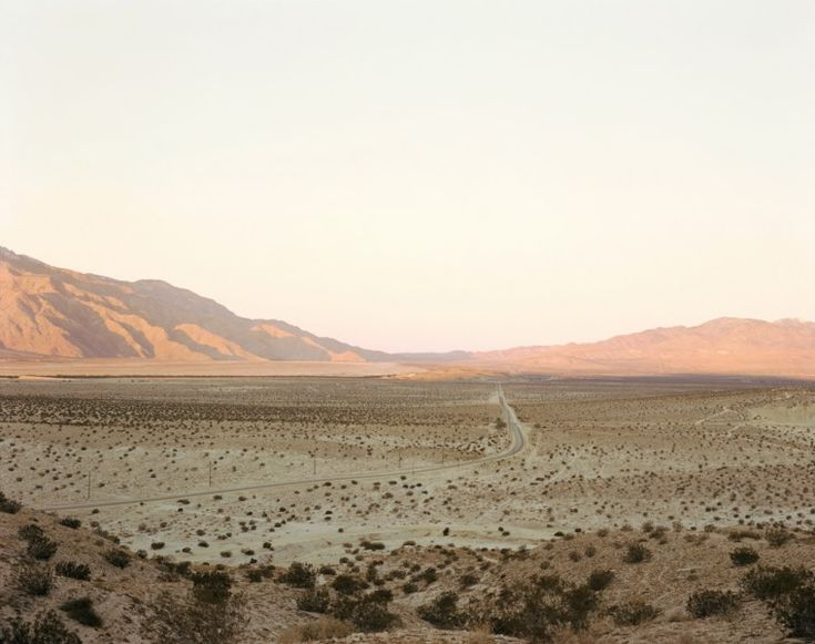 richard misrach: desert cantos. San Gorgonio Pass, 1981, chromogenic print