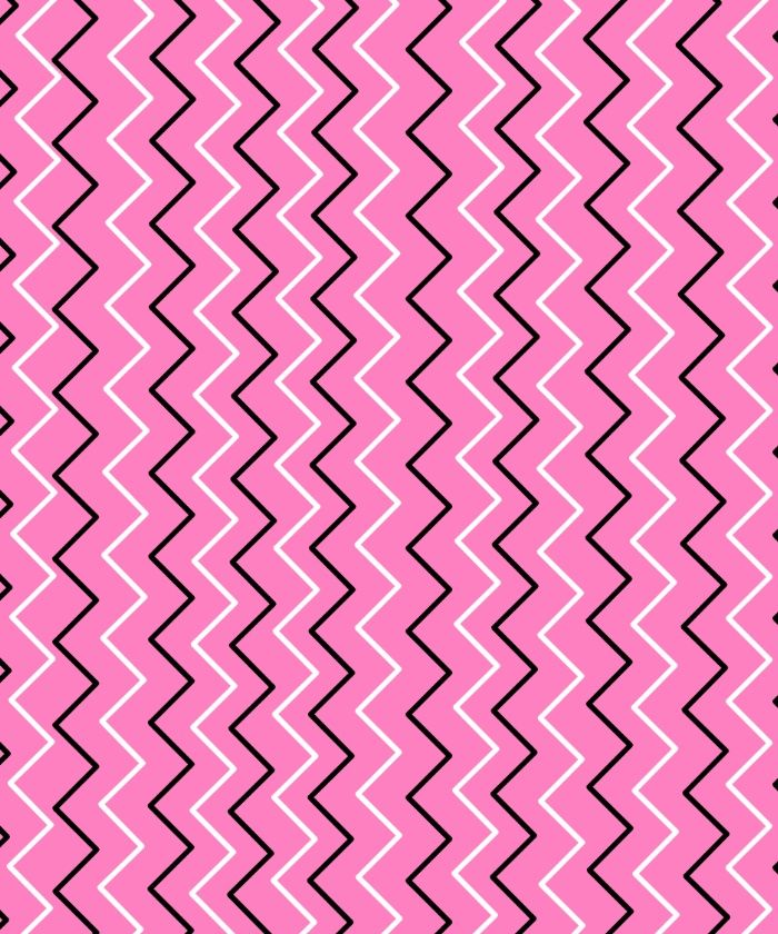 pink and black design