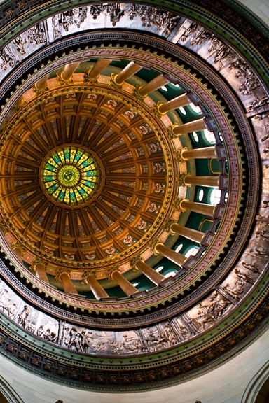 ideas that changed architecture #12 - dome  embellished interior dome