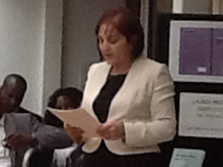 Giving speech at book launch 16.05.2013