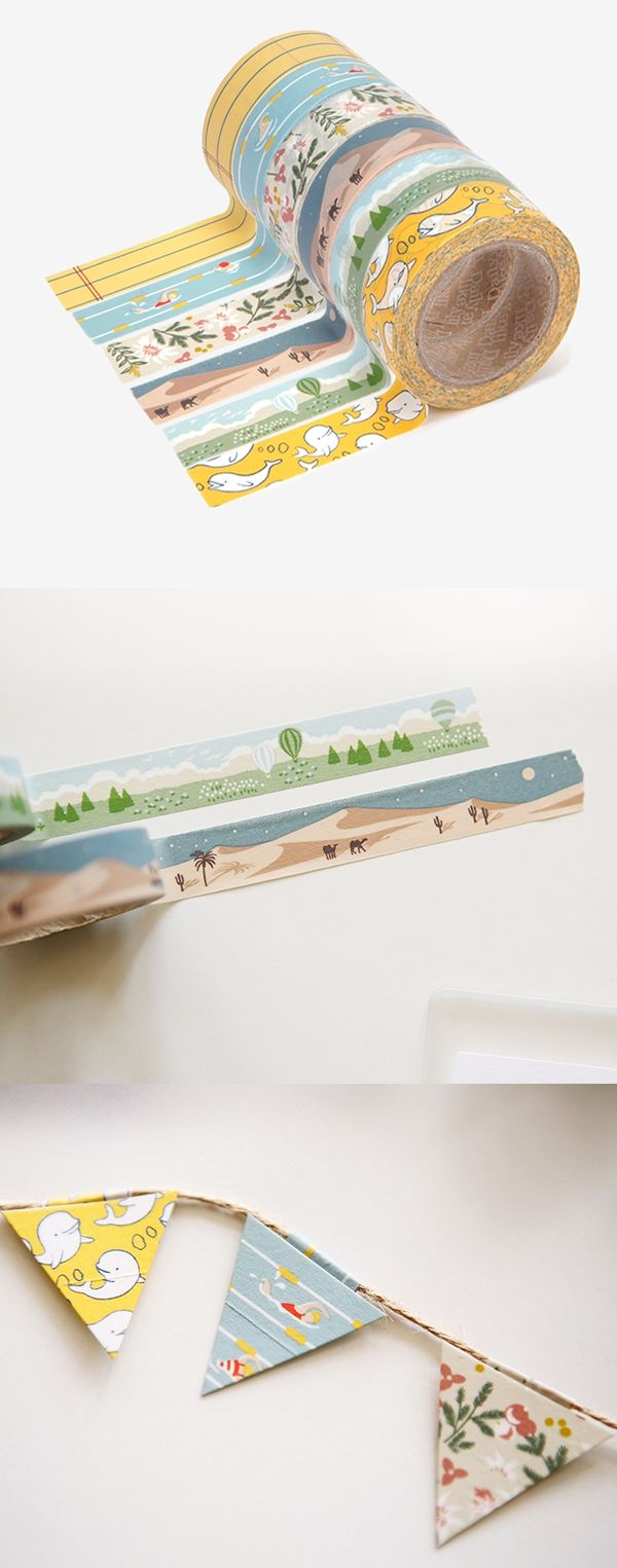 This is a beautiful and versatile masking tape which enhances my creativity as there are millions of ways to utilize this lovely masking tape!