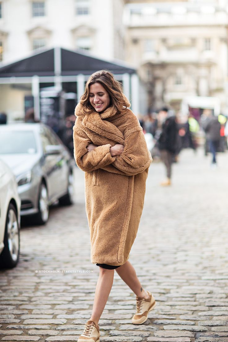 the Max Mara teddy bear coat. #fashion #style #woman