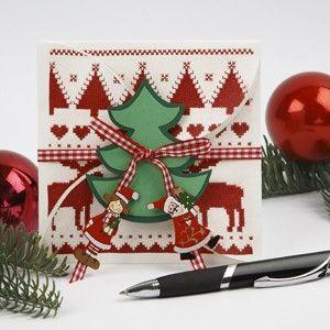 1460 Prachtige kaart met kerstboom