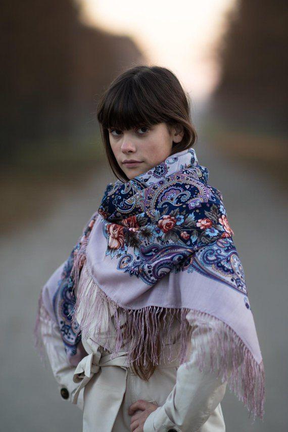 Секрет успеха *** Павловопосадские платки и шали