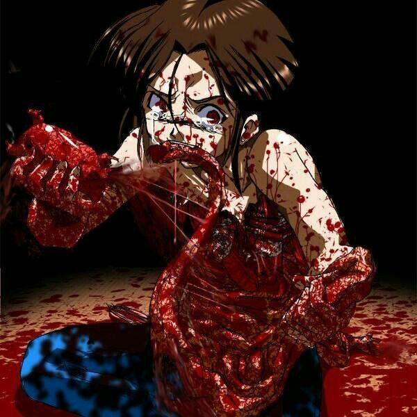 31 best anime gore images on pinterest horror rocky for Imagenes de anime gore