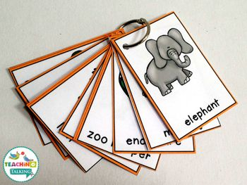 Zoo Vocabulary: Interactive Speech Therapy Activities by teachingtalking.com