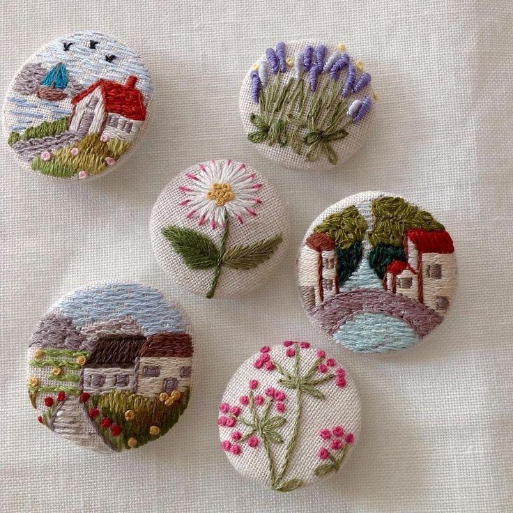 Günaydın...İşlerimizin kolay olduğu bir gün olsun inşallah...#günaydın #goodmorning #küçükşeyler #küçükmutluluklar #dekoratifnakış #nakış #embroidery #embroideryart #needleart #needlework #handmade #handembroidery #elişi #düğme #buttons #