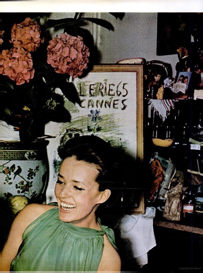 Actress Jeanne Moreau (1963)