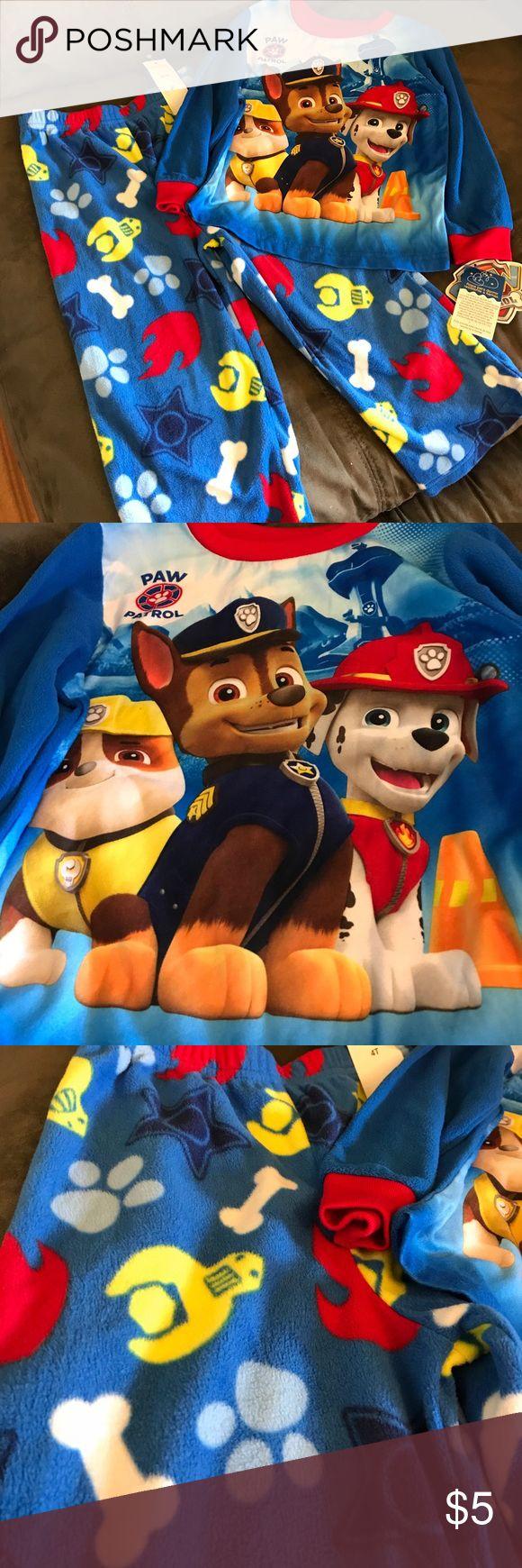 Paw Patrol pajama Toddler boys Paw Patrol pajama. Never worn with tags. Nickelodeon Pajamas Pajama Sets