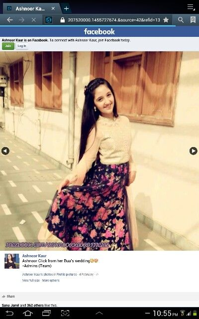 Ashnoor kaur from her buwa wedding