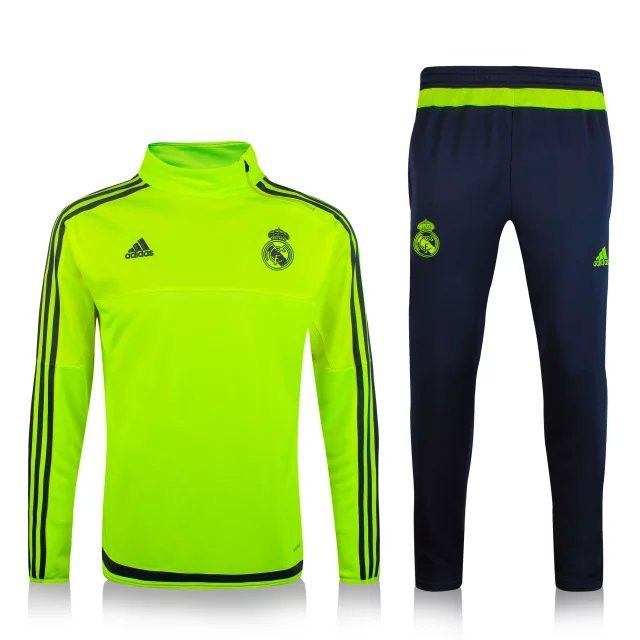 Grossiste de Nouveau Survetement de foot Real Madrid Vert 2016 decathlon