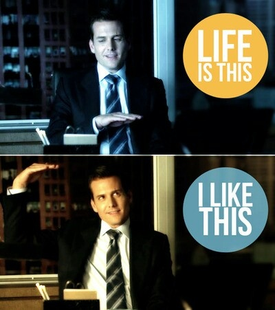Harvey Specter....I like this <3