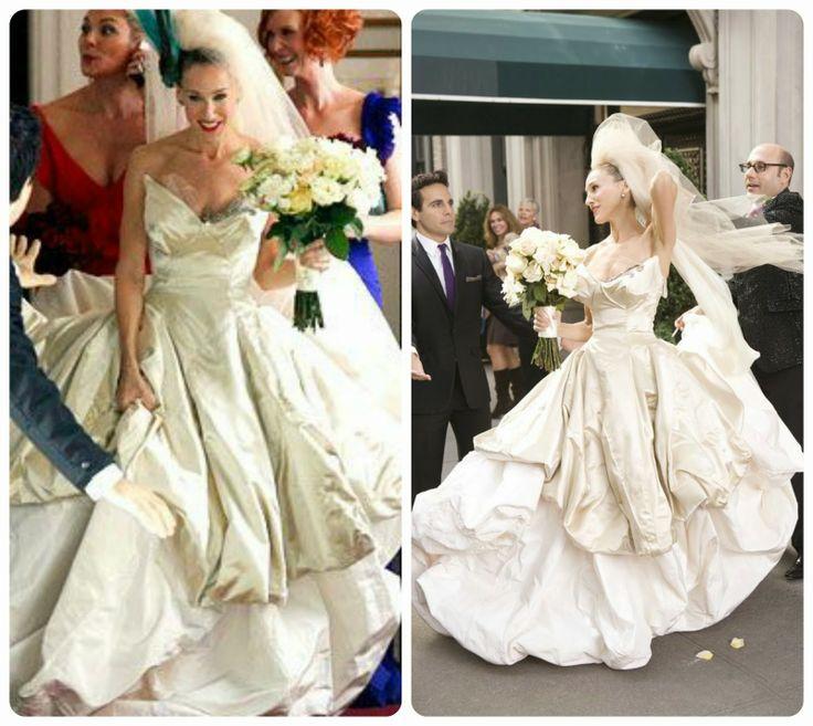 Le Nozze di Livia: Tutte al cinema! I migliori abiti da sposa del grande schermo Carrie Wedding dress sex and the city