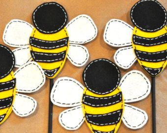 Felt Bumble Bee PDF DIY Pattern