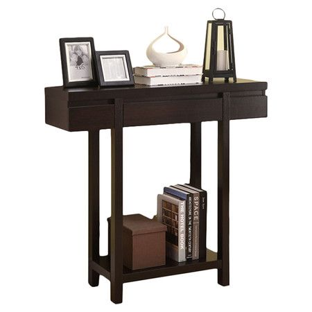 "XXX You should see this Entry Hall Console Table in Cappucino on Daily Sales! only 36"" wide x 12"" deep  102"