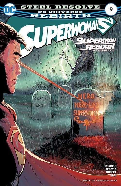 Lana Lang might not have her powers anymore, but that doesn't mean she can't be a hero. Superman, April 2017