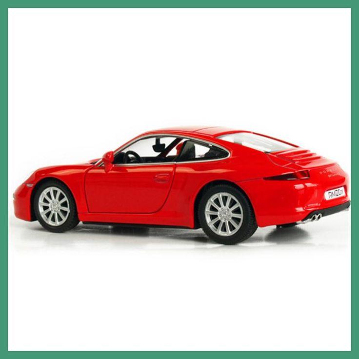 RMZ City 1:36 Alloy Pull Back Porsch 911 Carrera S Sports Car Model Children's Toy Cars Original Authorized Authentic Kids Toys
