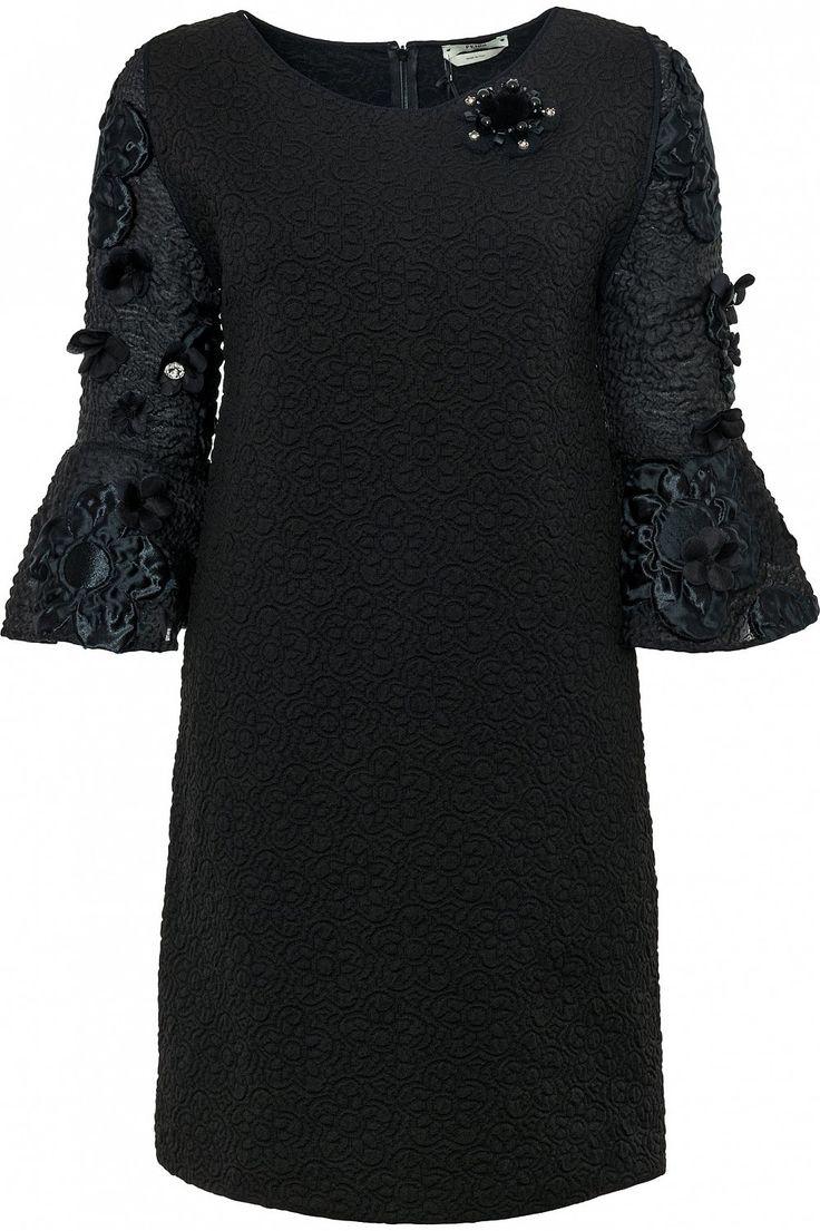 Платье мини с аппликацией FENDI - Торговый Дом «Волна»