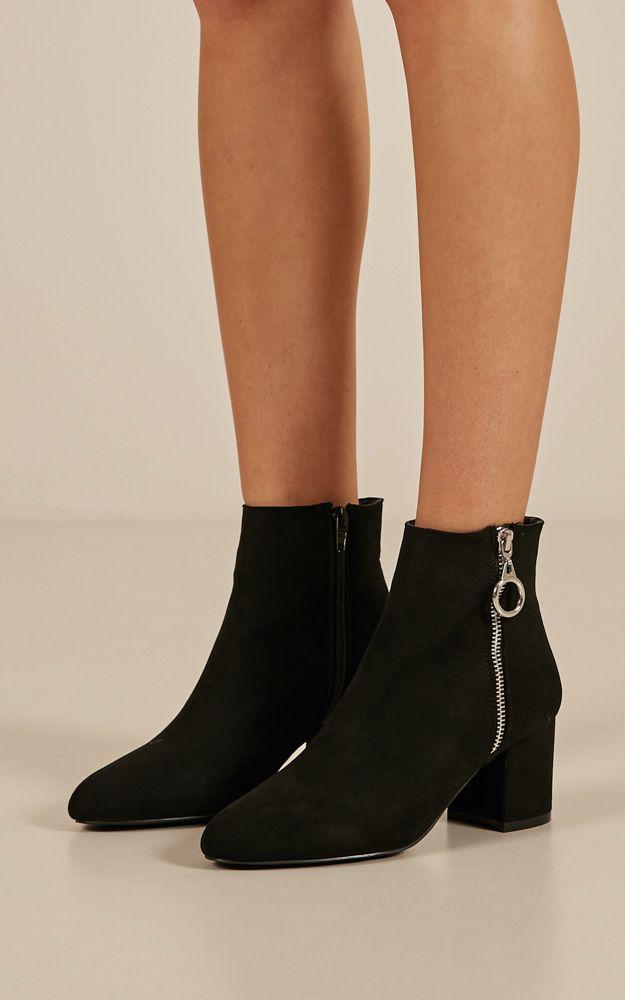 2ec3a235788 Billini - Keko In Black Suede | Products | Black suede, Black, Boots