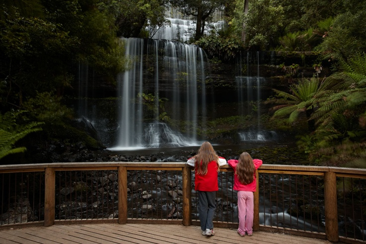 Where I want to be right now, Russell Falls, Mount Field National Park