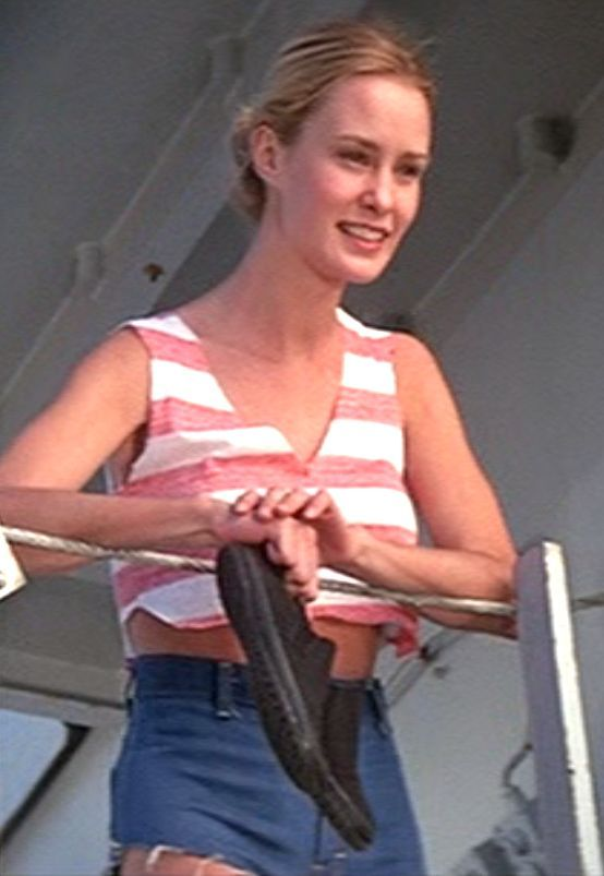 A young Jessica Lange in King Kong (1976)