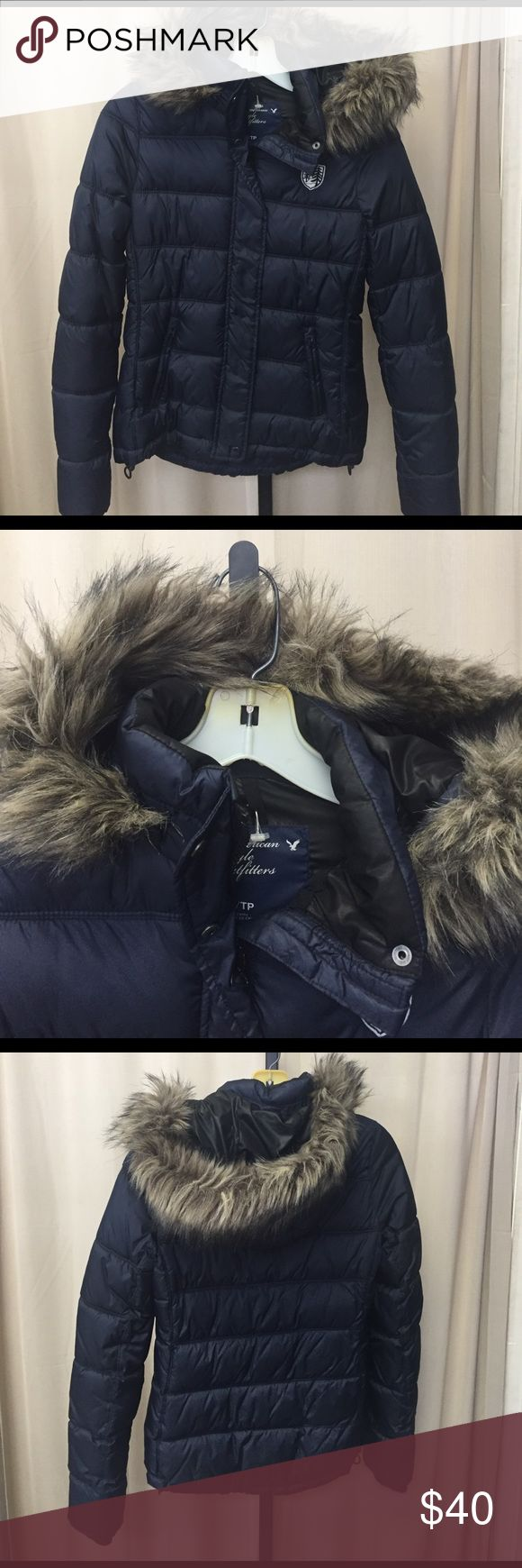 American eagle jacket size XS ~NO TRADES~REASONABLE OFFERS ACCEPTED~PLEASE ASK ALL QUESTIONS BEFORE PURCHASING~ALL OFFERS MUST BE MADE THROUGH THE OFFER BUTTON. OFFERS LEFT IN COMMENTS WONT BE ACKNOWLEDGED~NO LOWBALL OFFERS~NO HOLDS American Eagle Outfitters Jackets & Coats