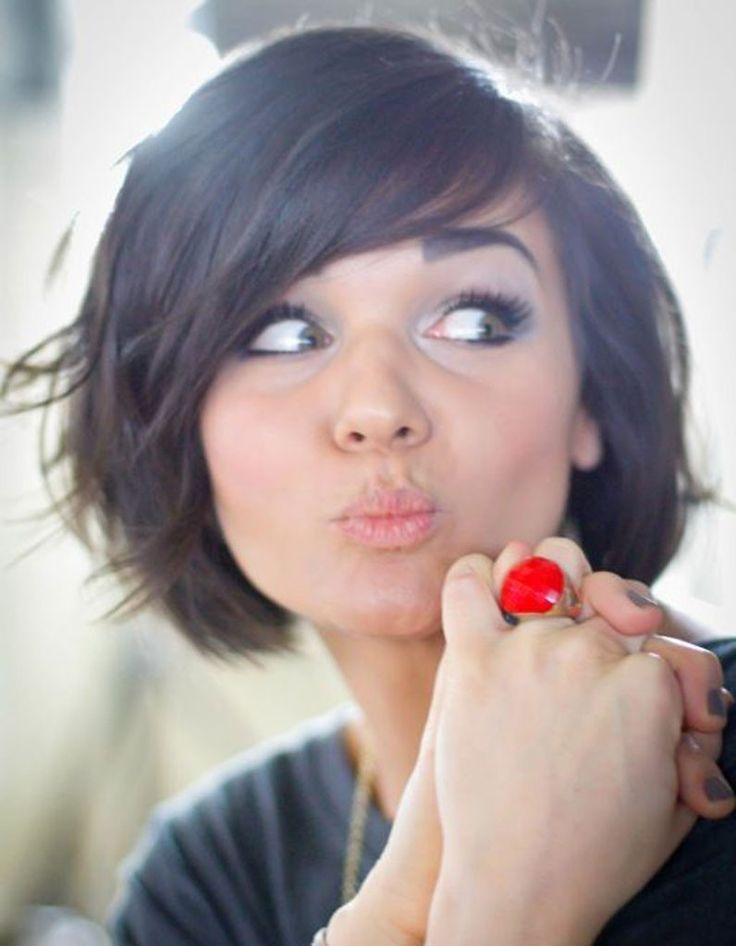 Coiffure visage rond femme cheveux fins: