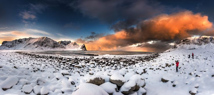 Panorama Unstad Beach , Lofoten island - How to turn a flat raw file into a  picture with Lightroom and Photoshop  https://www.youtube.com/watch?v=_cvJxBl63-Y   Gears : Nikon D810 + 14-24   Follow me on :  Website : www.87davis.com Facebook : https://www.facebook.com/87davisphoto/ 500px : https://500px.com/87davis Instagram :https://instagram.com/87davisphoto