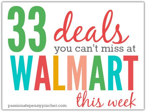 33 Deals You Can't Miss at Walmart This Week