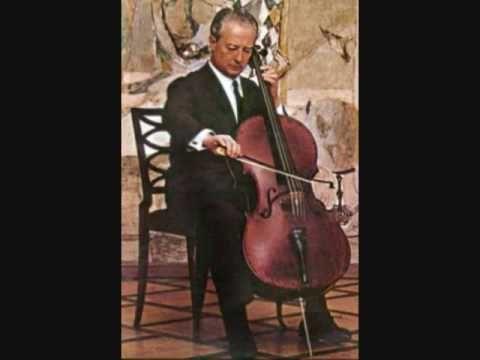 Pierre Fournier plays Stravinsky Chanson russe