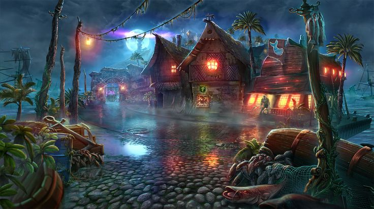 Nightmares from the Deep: The Siren`s Call #nightmares #artifexmundi #adventure #game