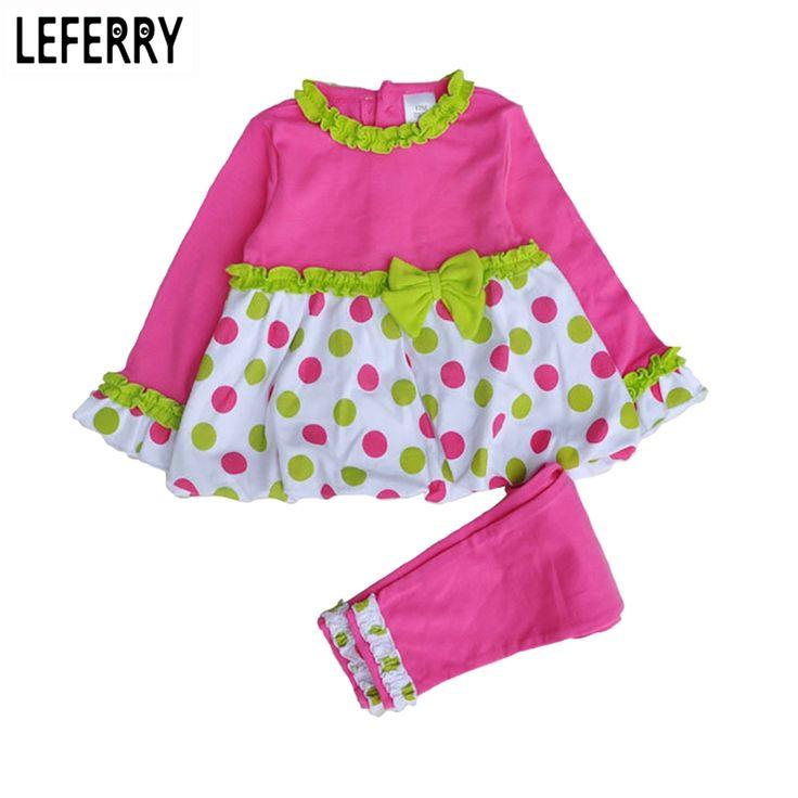Baby Girl Clothes Set Dresses Legging Pants Baby Kleding Toddler Girls Clothing Sets Infant Clothing Boutique Autumn Spring 2016 #Affiliate