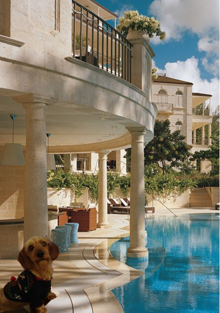 Head Of Security Missie Visits Barbados & Stays In Style At One Sandy Lane