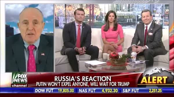 Rudy Giuliani Blames Intelligence Agencies As Being 'Incompetent' | Crooks and Liars ( He should be locked up. What the republicans have done, is criminal.)