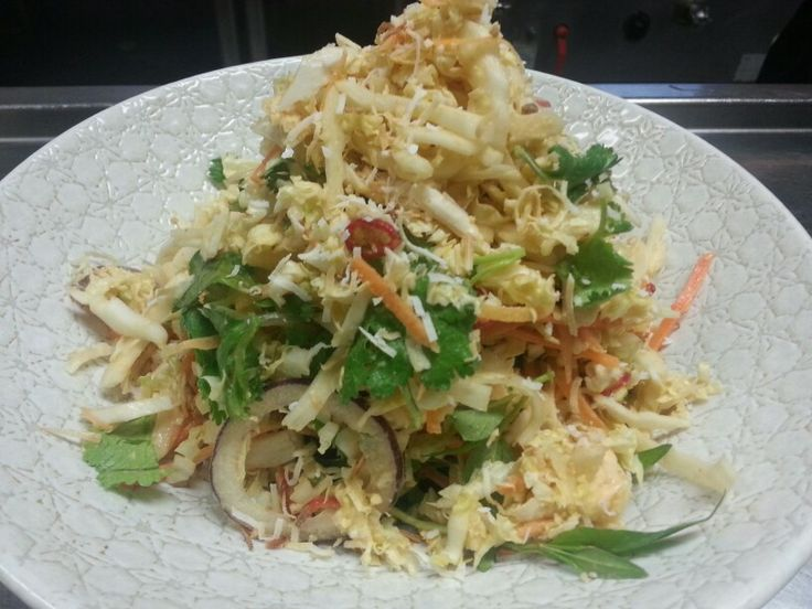 Coconut And Chili Kerabu Salad Recipe — Dishmaps