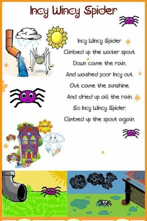 Incy Wincy Spider Education English Nursery Rhymes