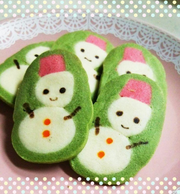 アイスボックスクッキー♪ゆきだるま by ゆっきーず [クックパッド] 簡単おいしいみんなのレシピが233万品