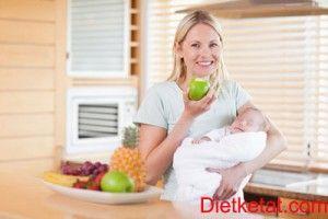 tips diet untuk ibu menyusui