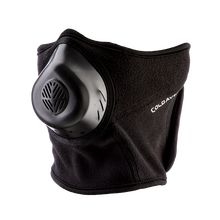 Cold avenger - humidifies/warms the air to ease asthma symptoms when running in cold weather.