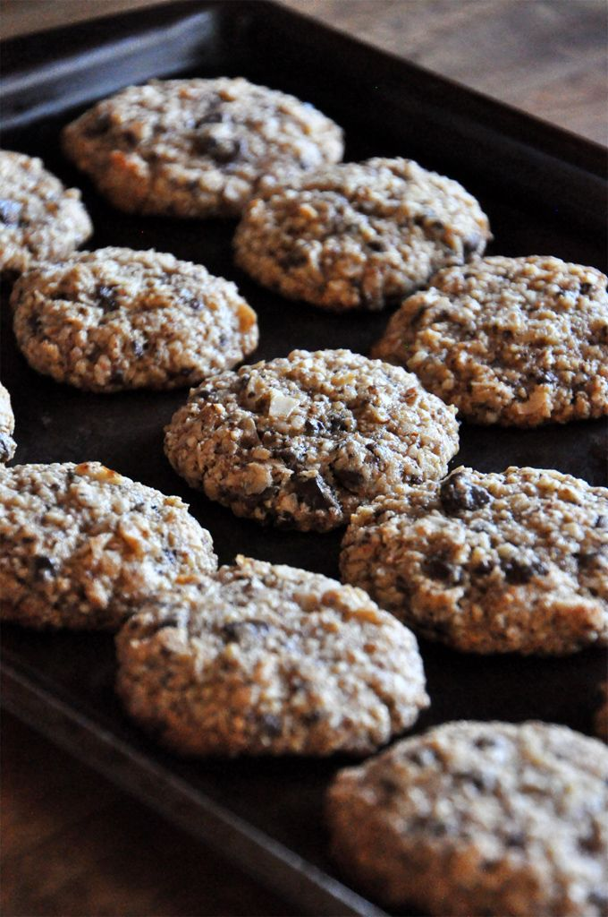 Sprouted Kitchen Gluten Free Chocolate Chip Cookies