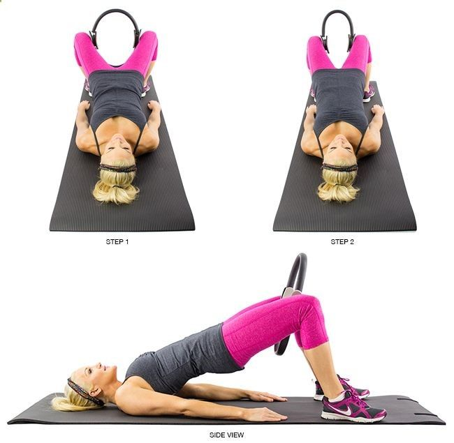 Excersices For Legs At Home and At The Gym - Blast Thigh Jiggle: 9 Pilates Ring Exercises We Swear By [VIDEO] - Strengthening our legs is an exercise that we are going to make profitable from the beginning and, therefore, we must include it in our weekly training routine