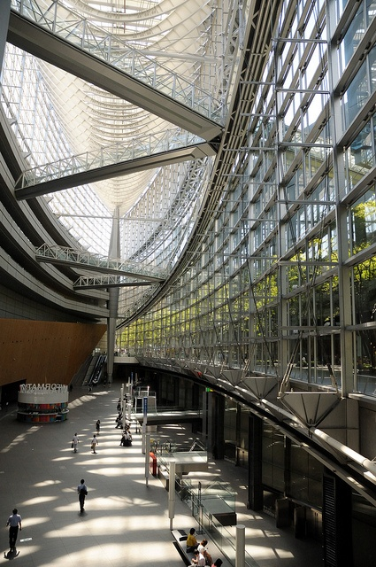 Tokyo International Forum designed by Rafael Vinoly Architects