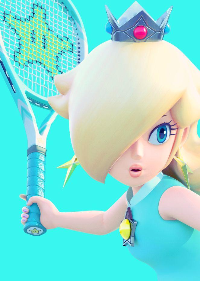 Rosalina . Mario Tennis Ultra Smash