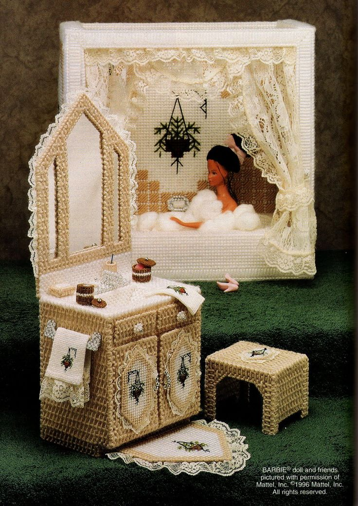 Photo Free Plastic Canvas Doll Patterns Pinterest Plastic Canvas Barbie And Barbie Furniture