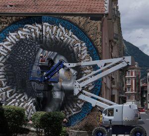 Street+art+immense+fresque+de+SNEK+à+Grenoble