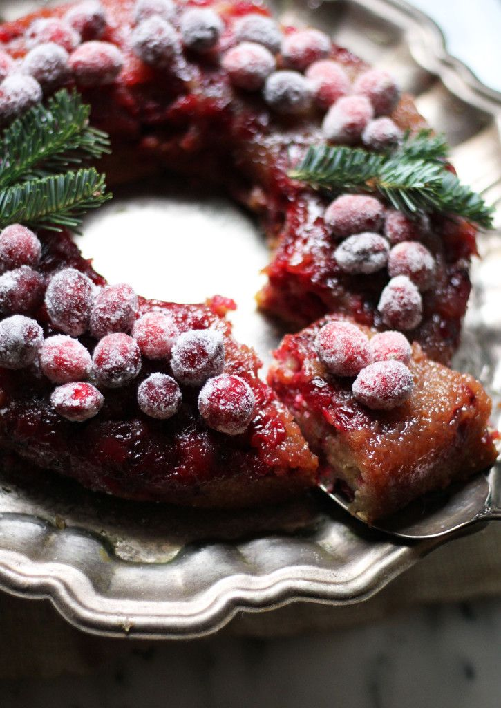 Cranberry Buttermilk Upside Down Cake                                                                                                                                                                                 More