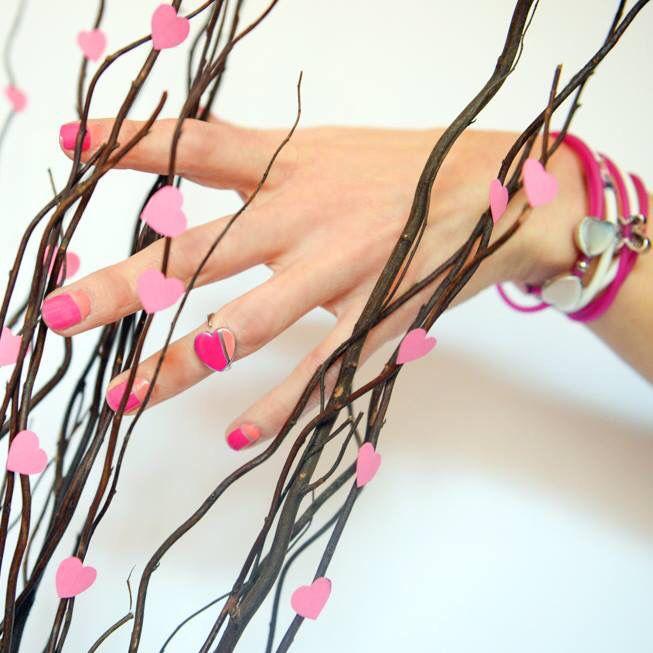 #ringbow #pink #mondaymanicure