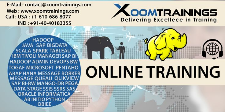 Xoom Trainings provides SAP BI online training by real time - hadoop admin resume